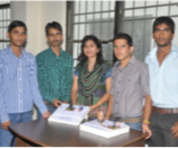 Manav Bharti University-students enjoying engineering day