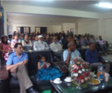 Manav Bharti University-chief guests at teacher's day celebrations